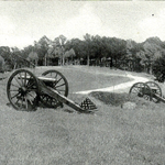 Slocum Ave, section of Stevens' 5th Maine Battery