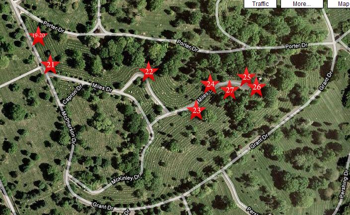 Gettysburg At Arlington Part Gettysburg Licensed Battlefield - Arlington cemetery on us map