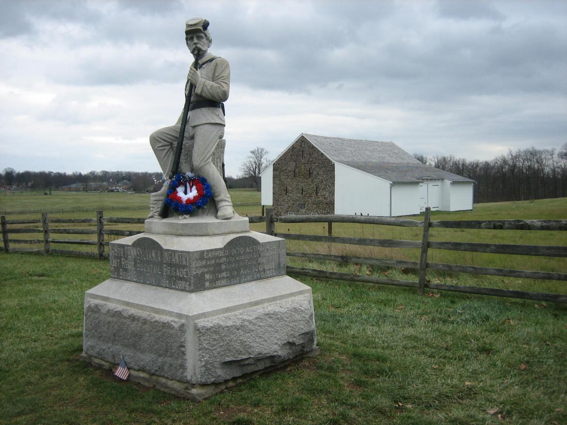 149th Pennsylvania monument