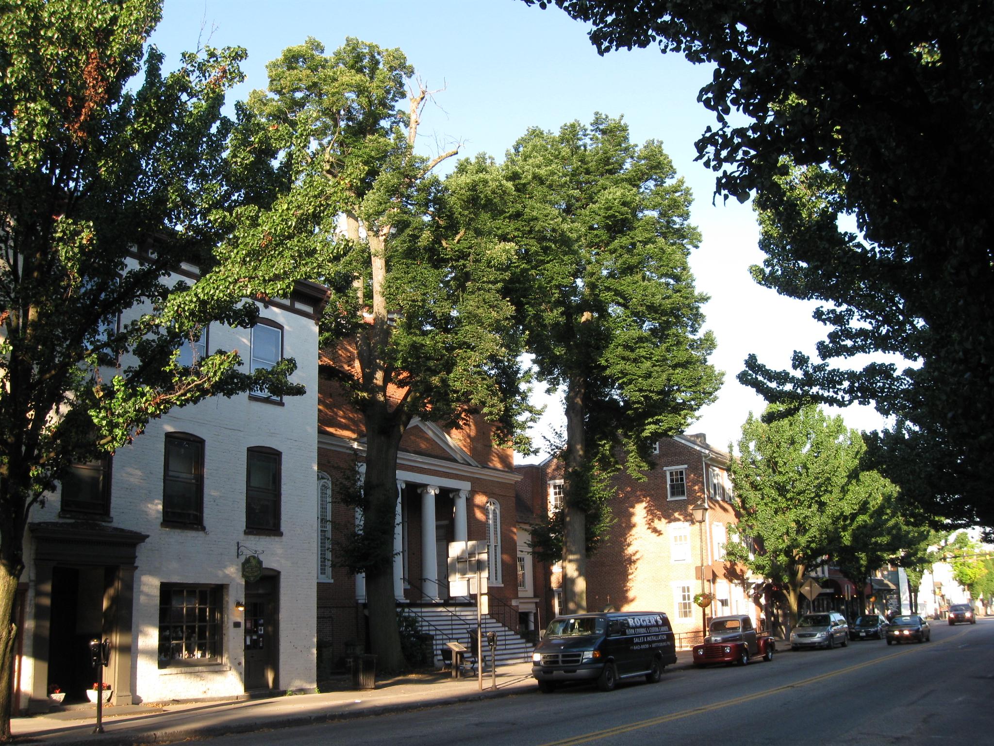Gettysburg S Christ Lutheran Church Will Cut Down Its Two