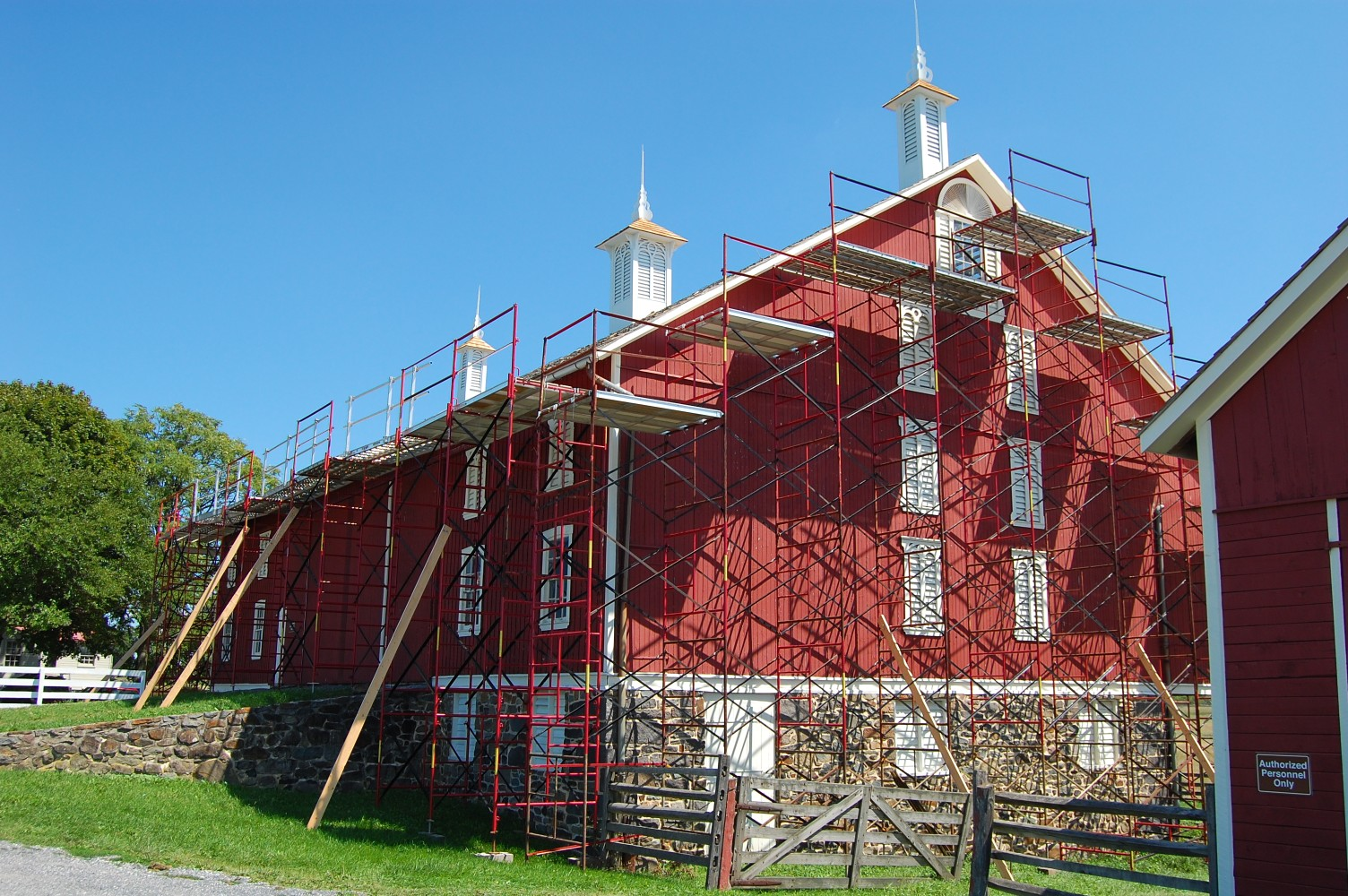 Codori Barn Restoration Roofing Progress Gettysburg Daily