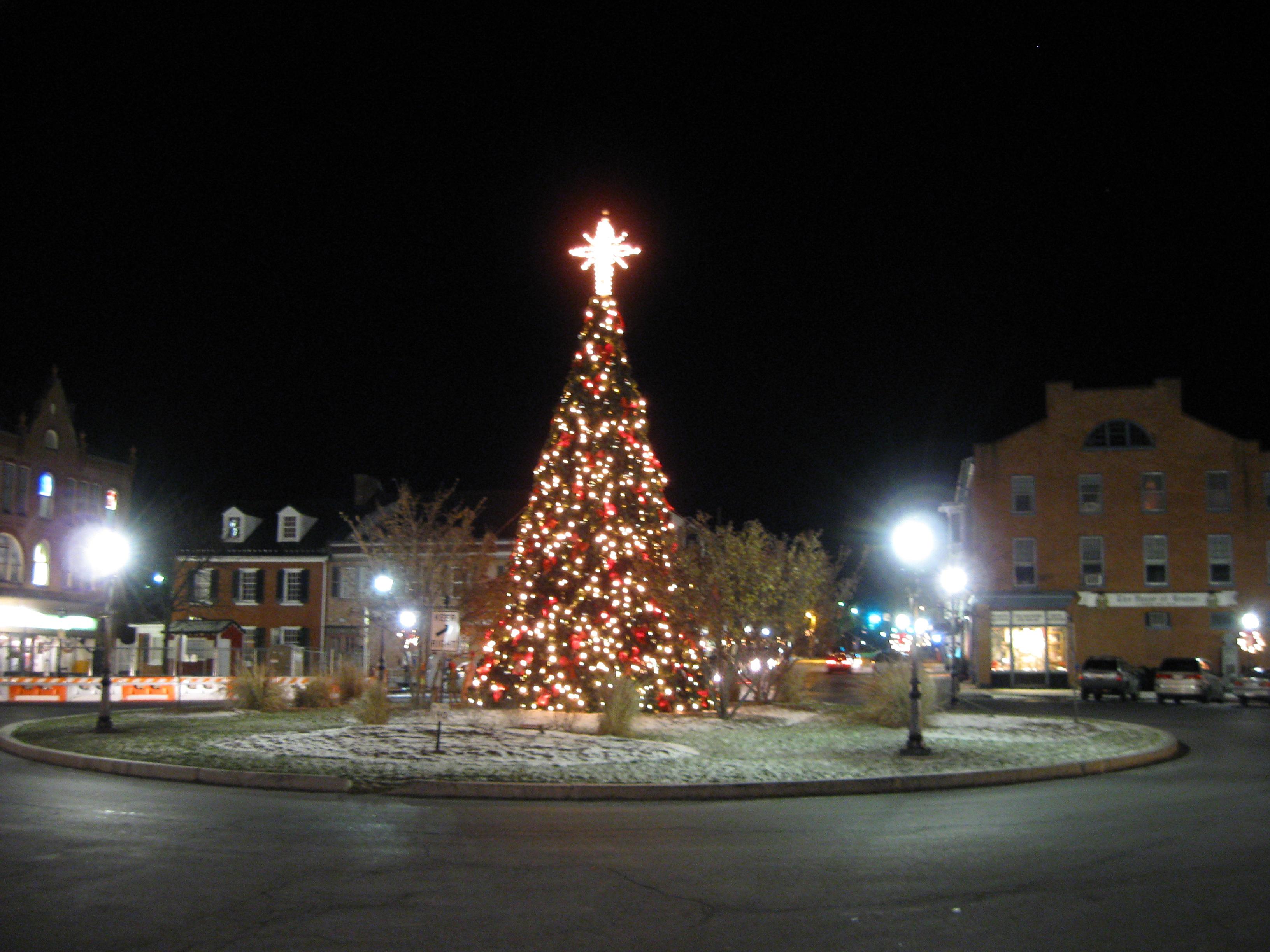 Gettysburg Diamond Christmas Lights Gettysburg Daily