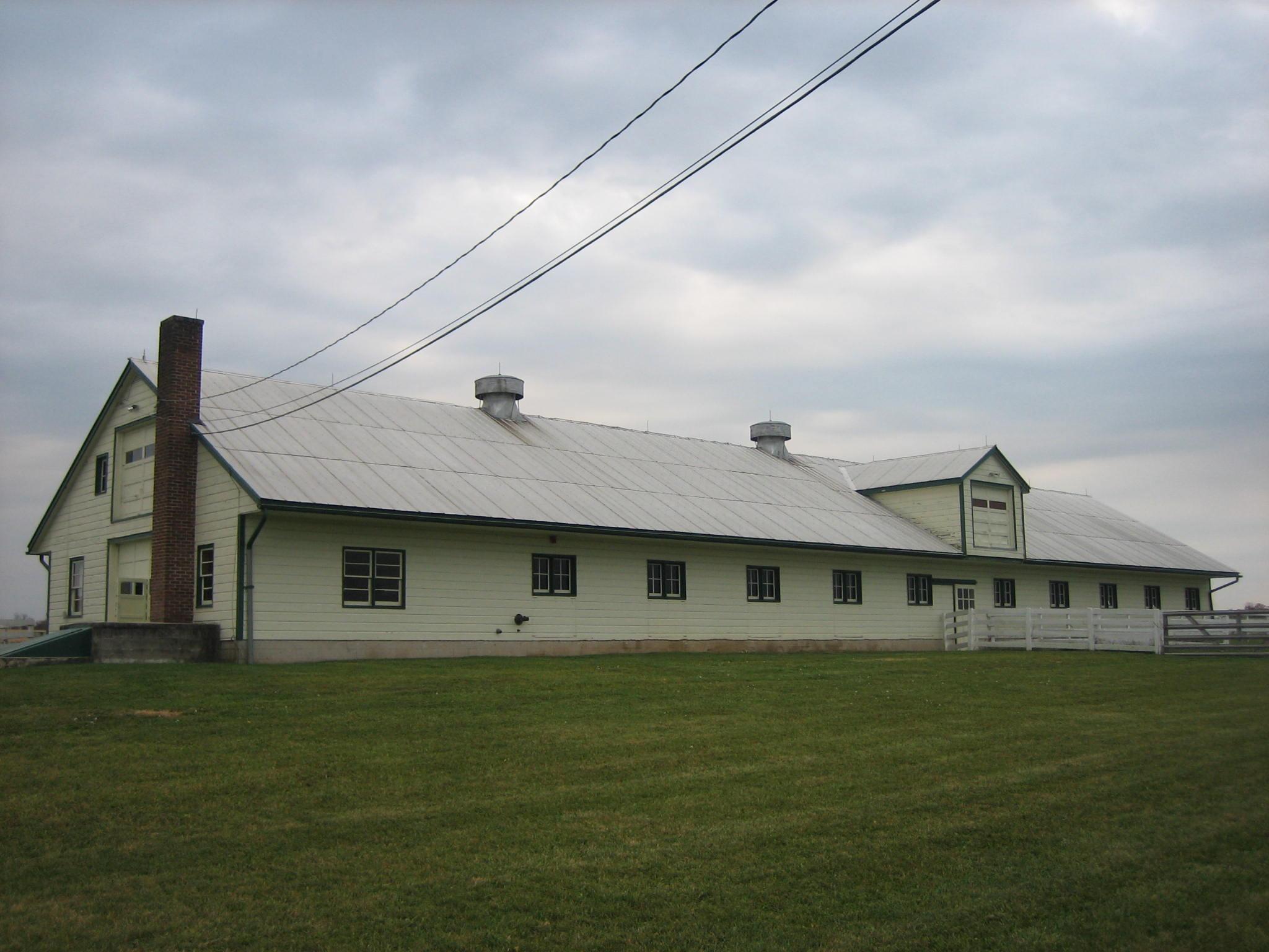 Eisenhower National Historic Site The Show Barn