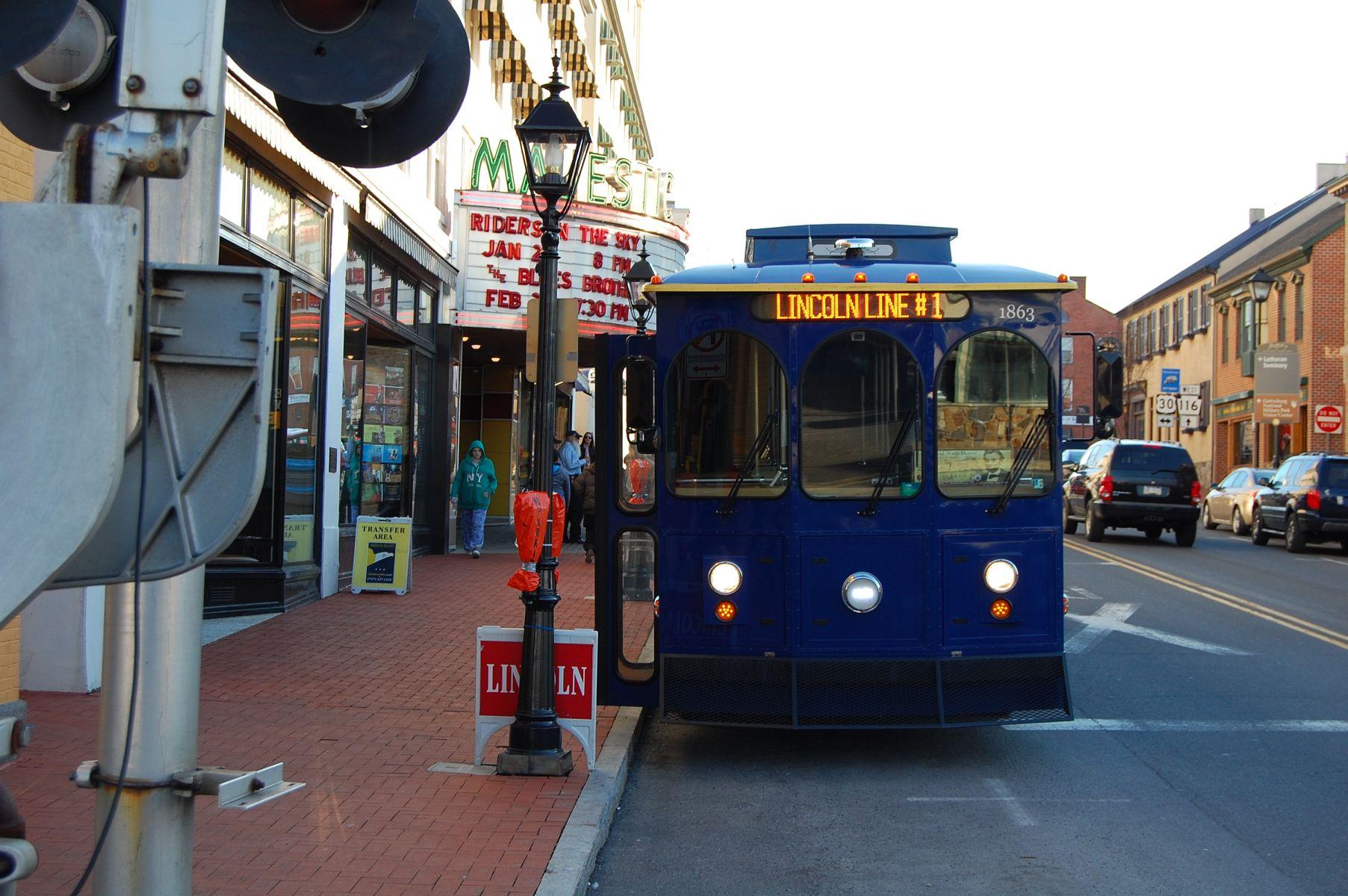 Gettysburg Transit Center Takes Shape   Gettysburg Daily