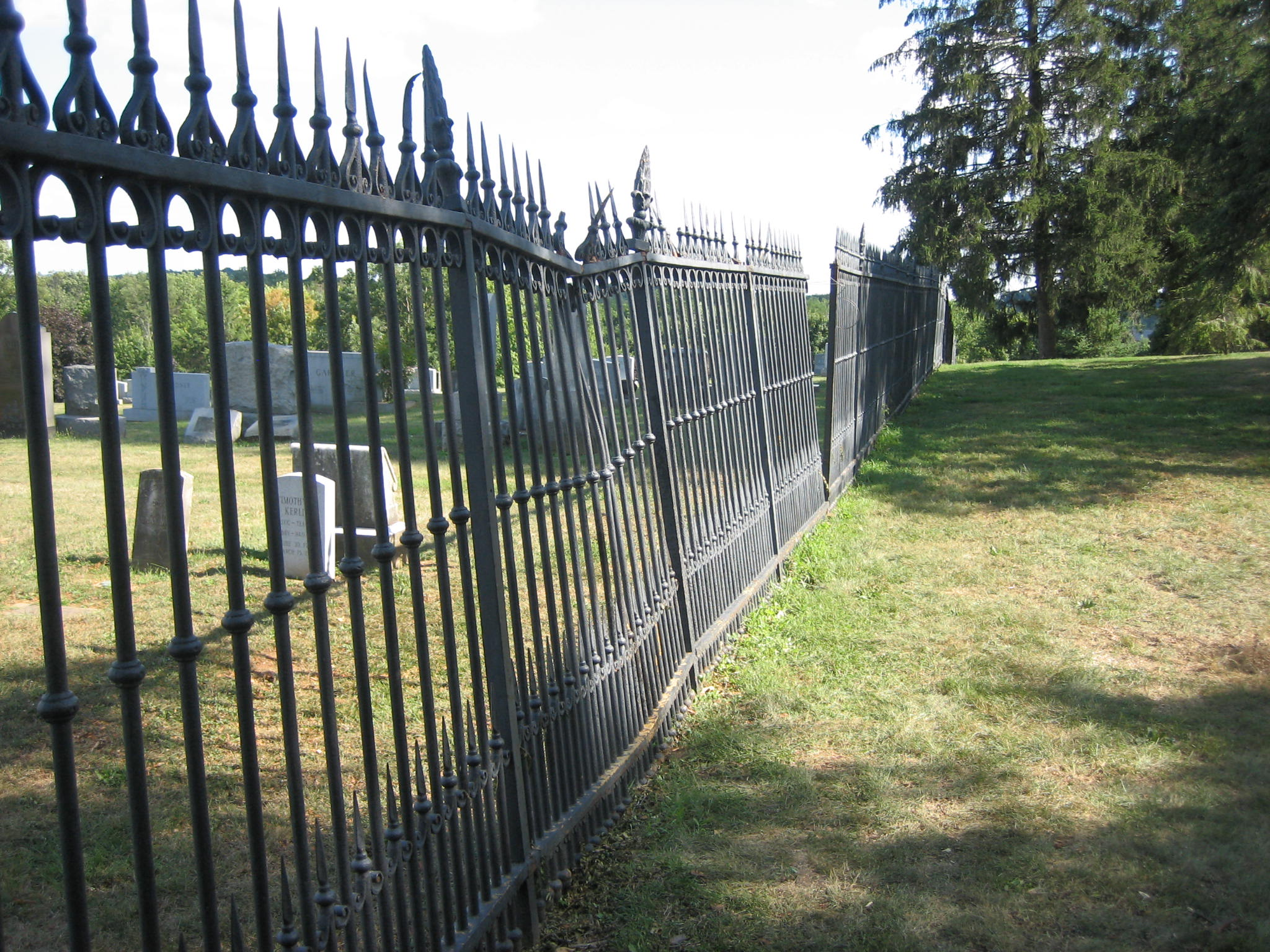 Gettysburg Cemetery Witness Tree Sickles Witness Fence