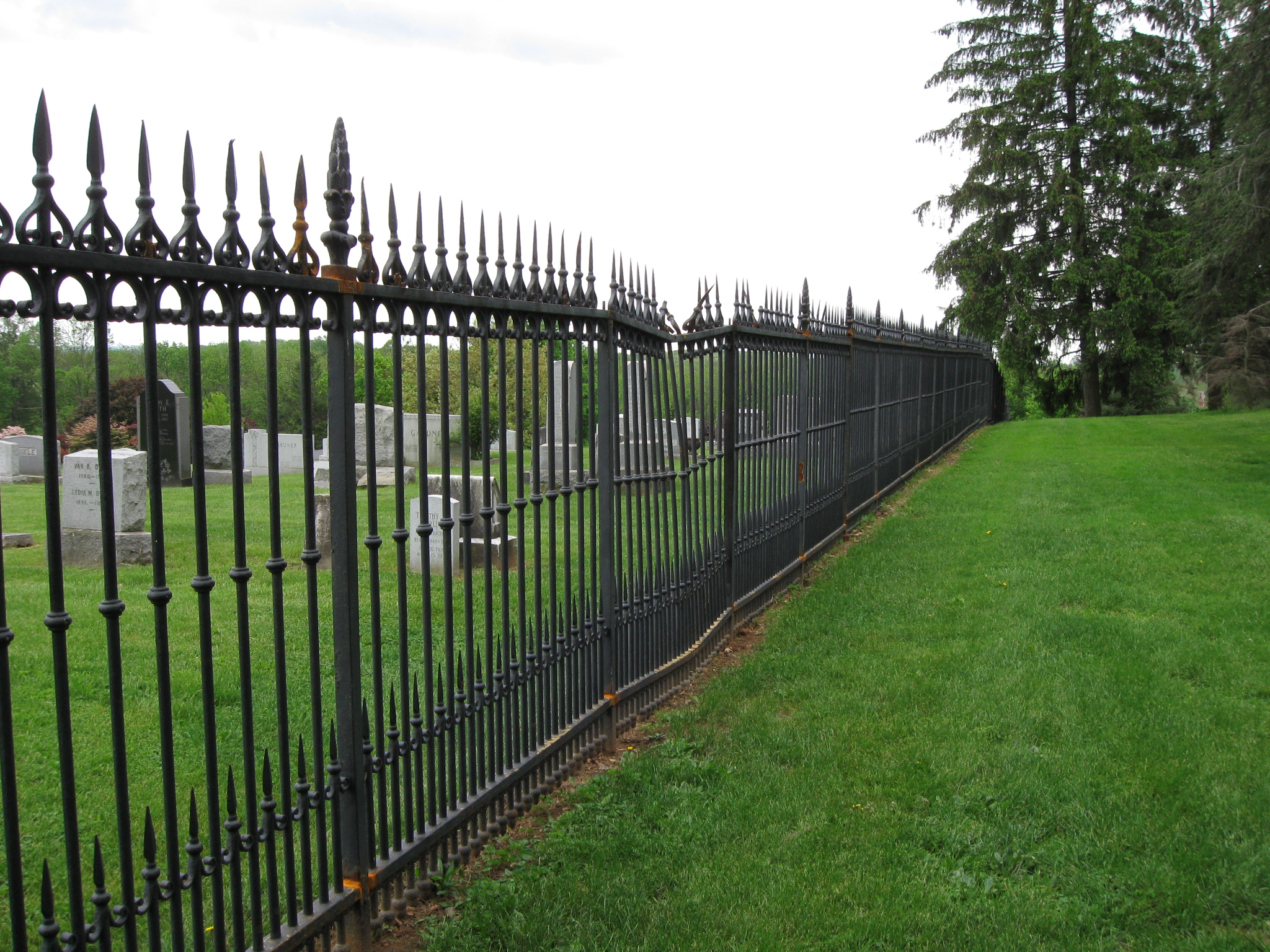 Gettysburg Cemetery Witness Tree Sickles Witness Fence