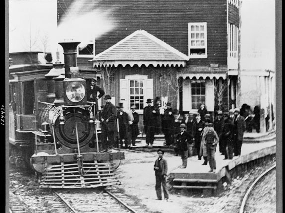 Delayed at the Hanover junction in 1863