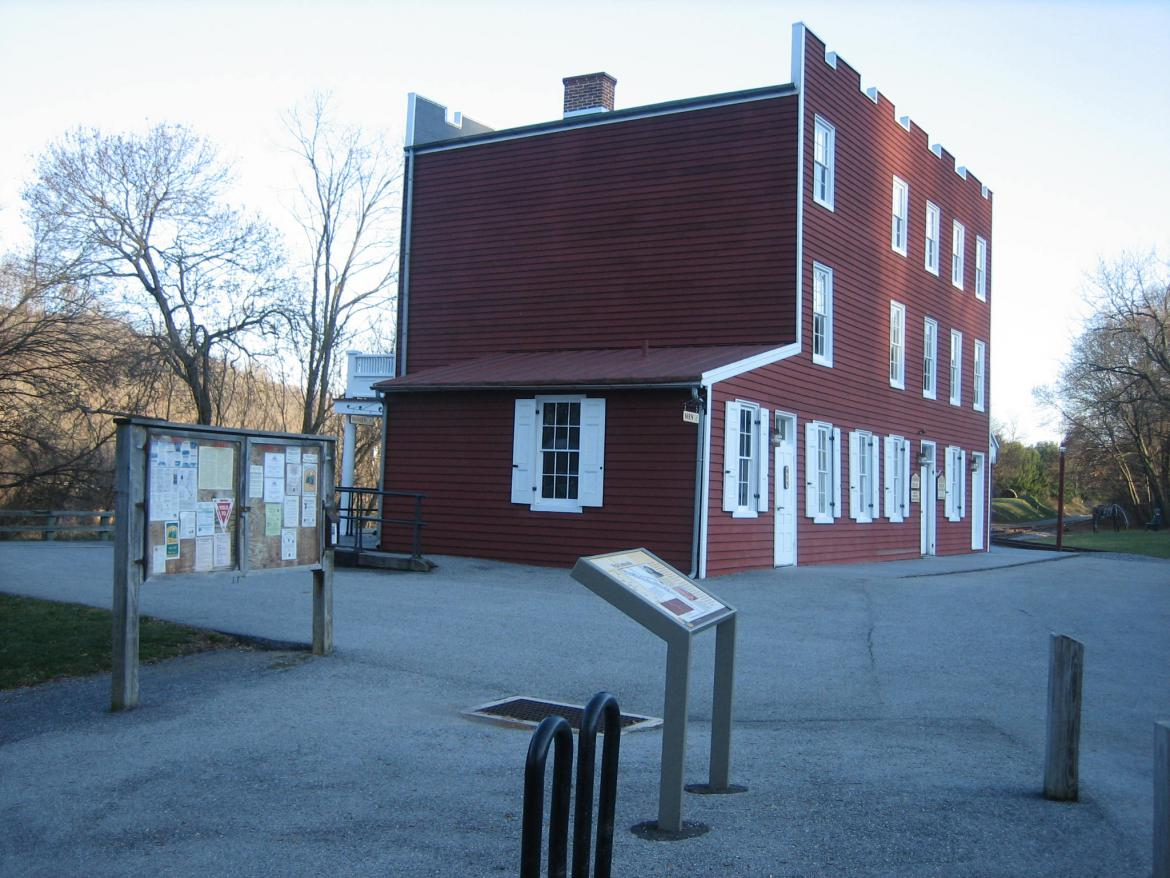 Exterior of Depot and Museum