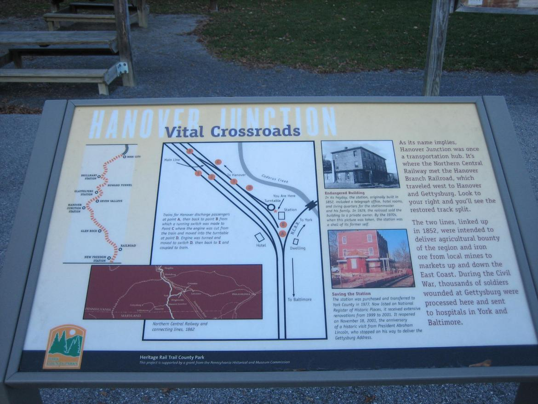 Vital Crossroads wayside