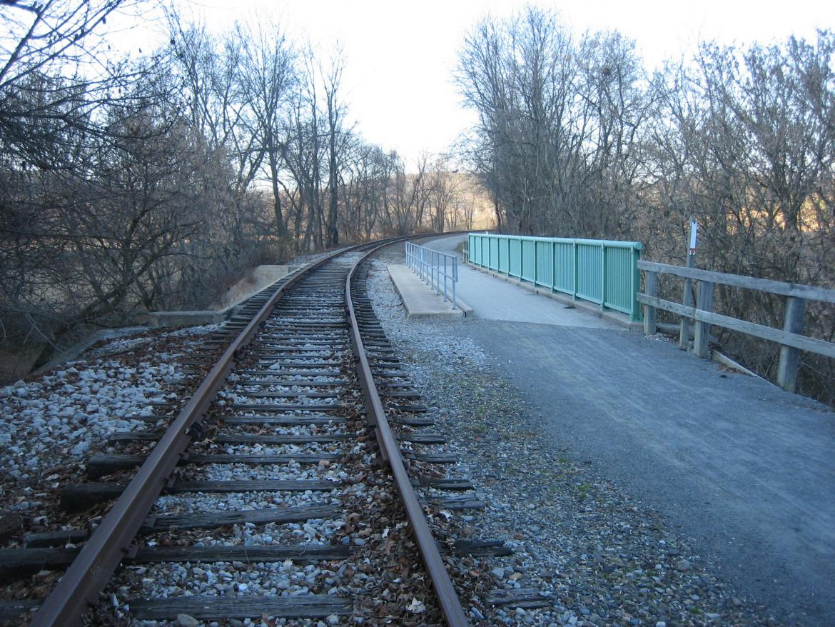 Modern Northern Central Railroad Bridge