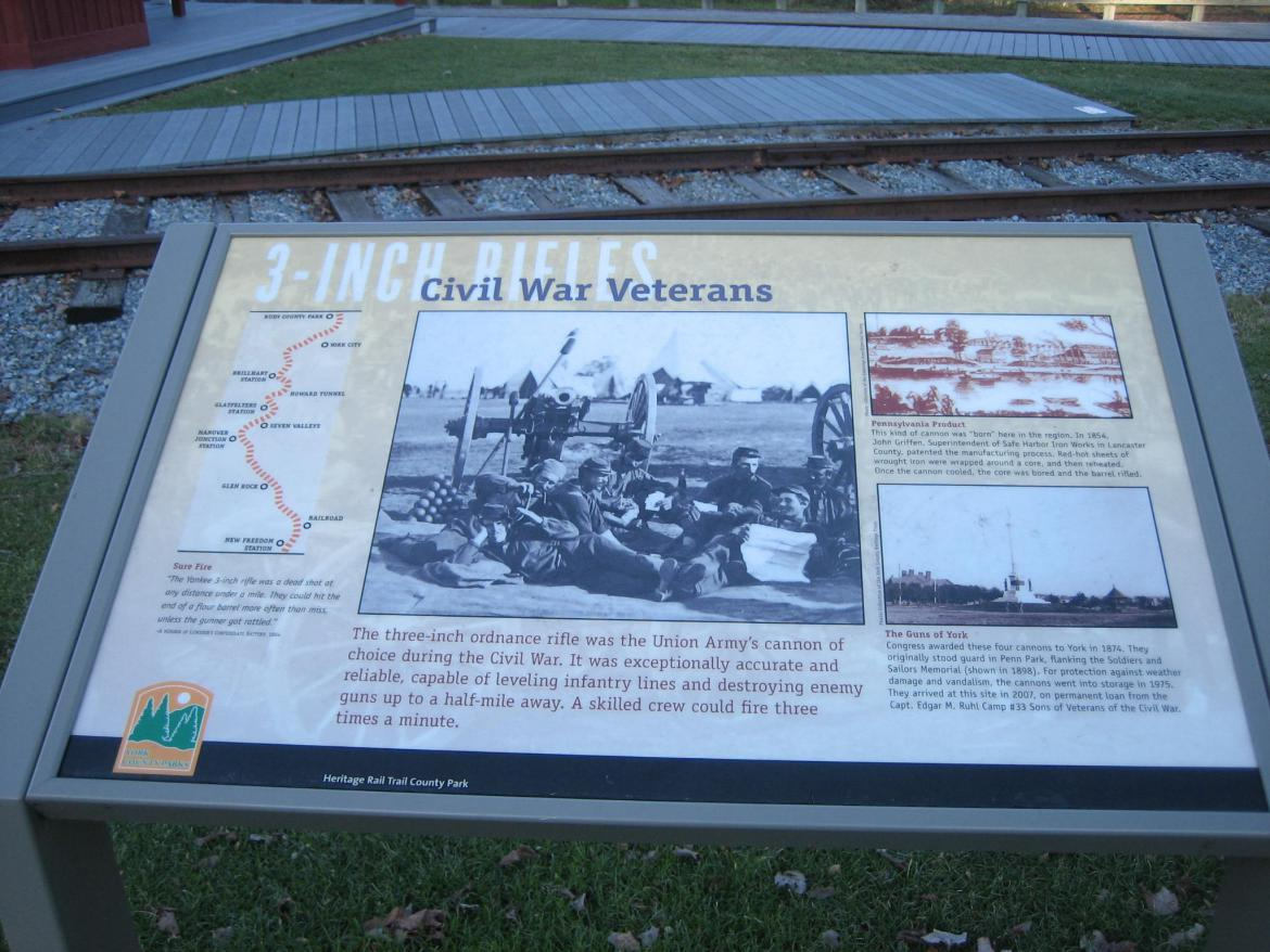 Civil War Veterans wayside