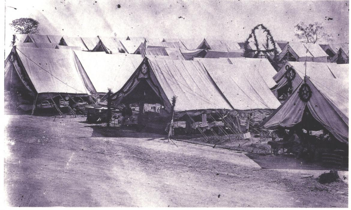 General Hospital Wards tents