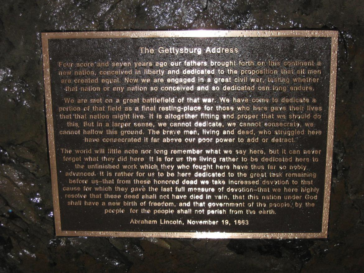 at Gettysburg National Military Park Visitor Center | Gettysburg Daily ...
