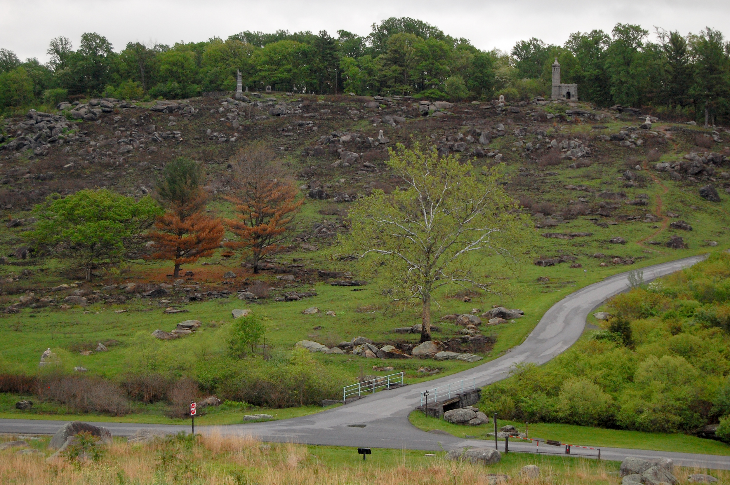 What Is Green Monday >> Green Returns to Little Round Top | Gettysburg Daily