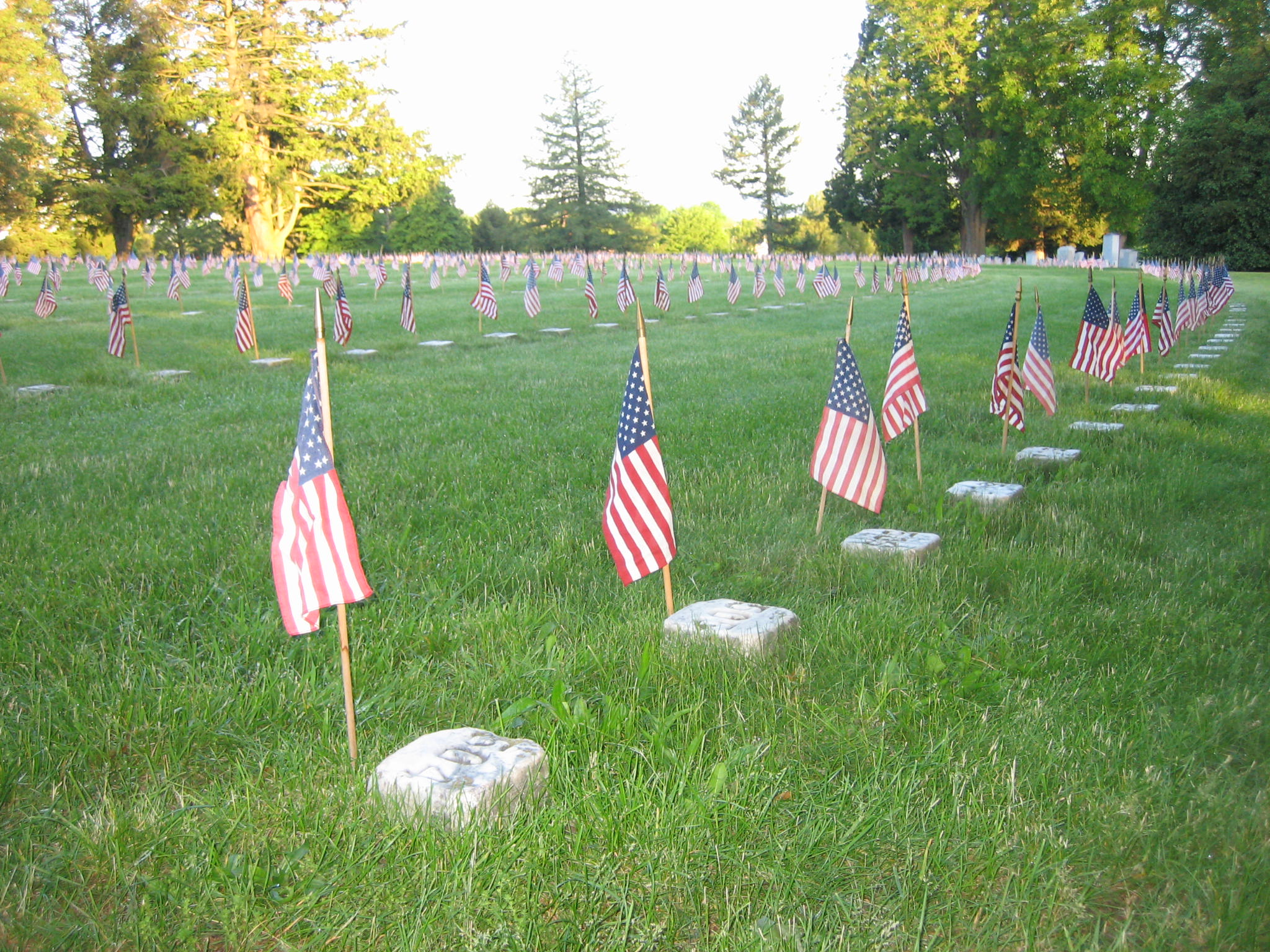 Memorial Day Weekend At The Soldiers National Cemetery