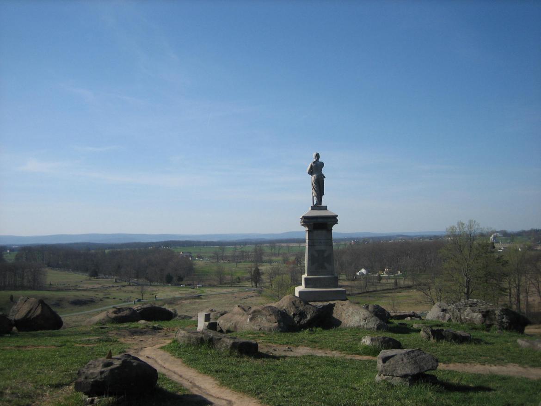 155th Pennsylvania Monument Gettysburg Daily