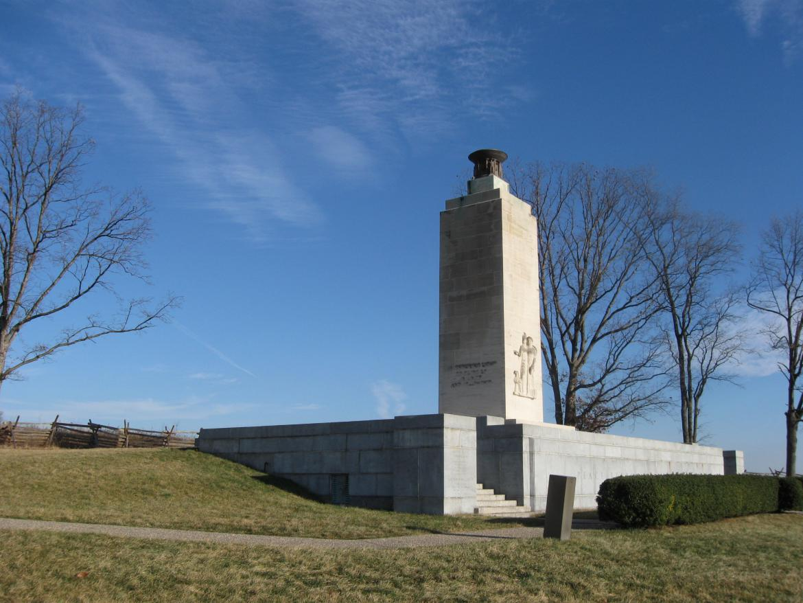 Northeast view of the Peace Light