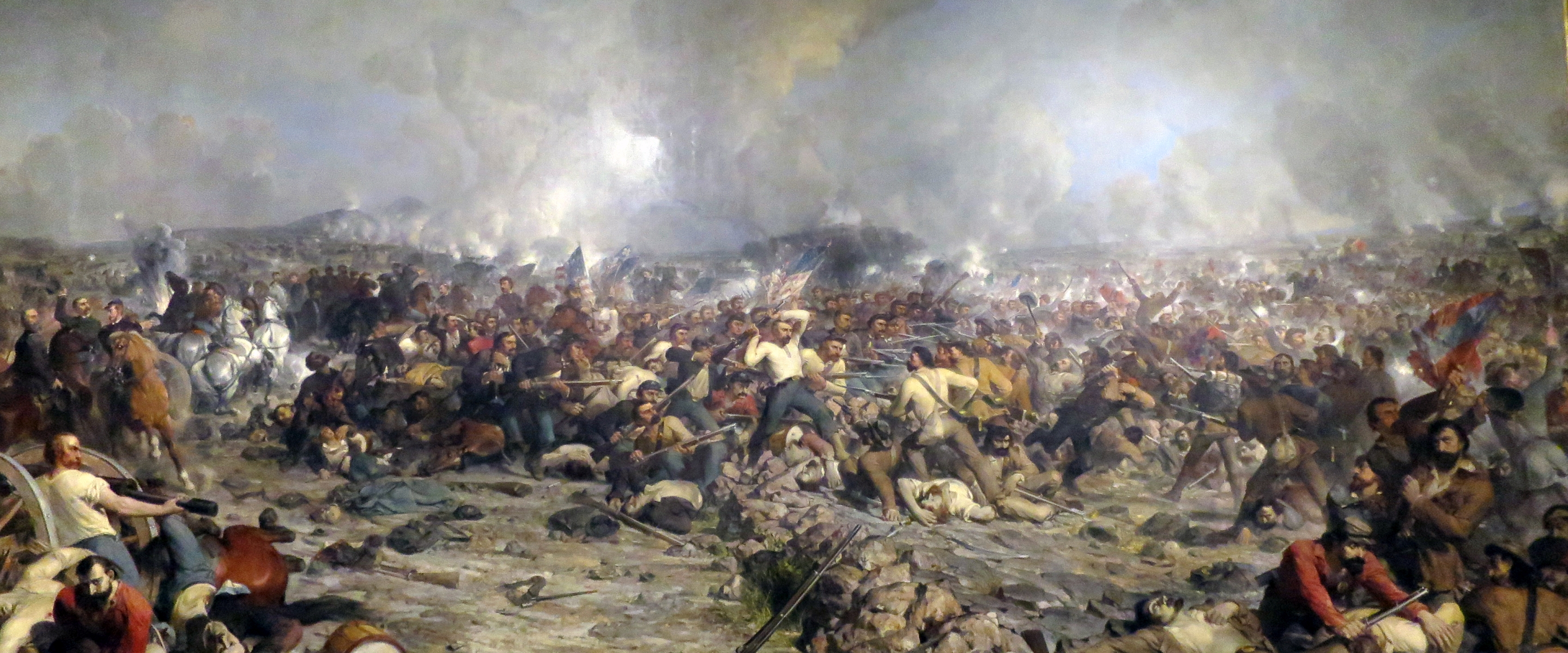 Gettysburg Oil Painting