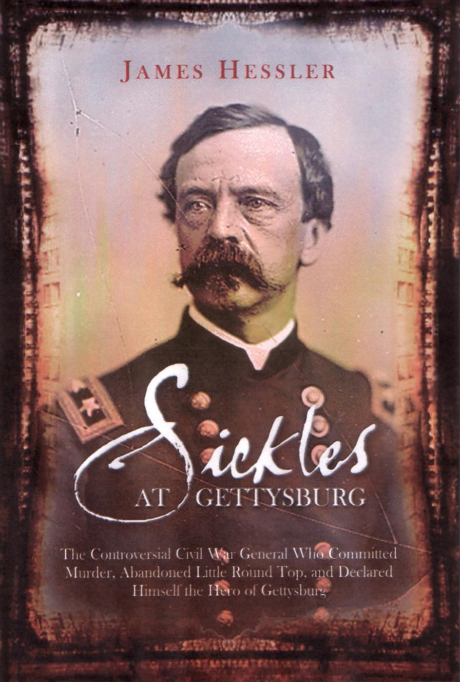 Daniel Sickles At Gettysburg Part 3 With Licensed