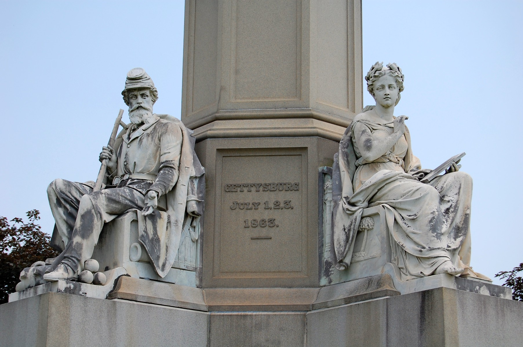 Soldiers National Monument In Need Of Repairs