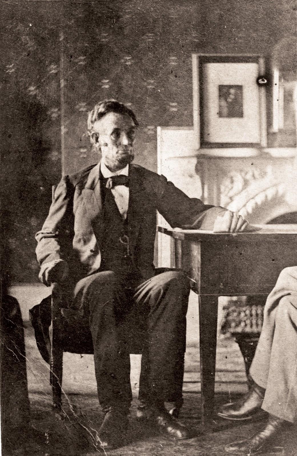Lincoln Emancipation Proclamation Statue At Stevens Hall
