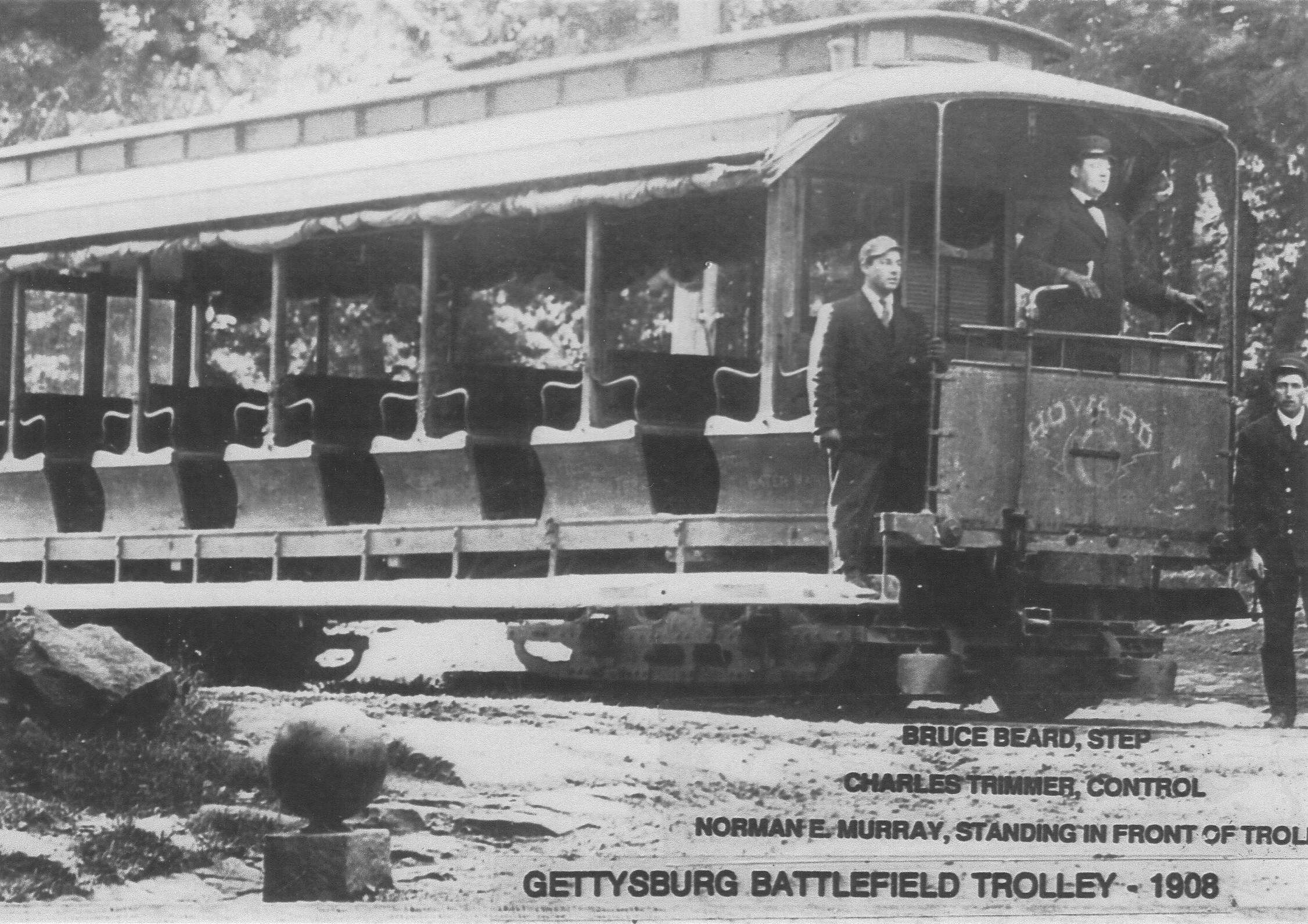 Trolley Car Jersey City Closed
