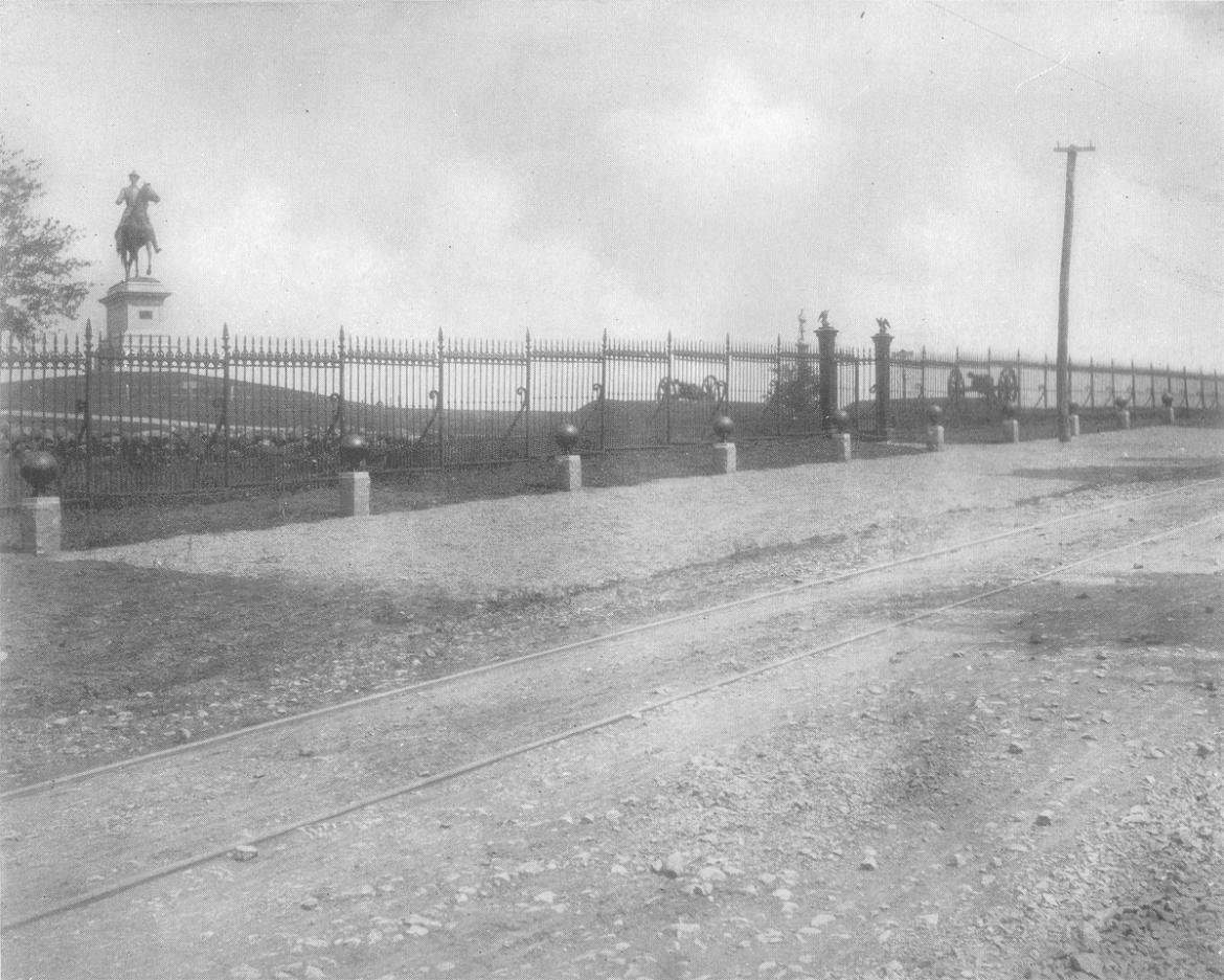 Historic photograph of Cemetery Hill