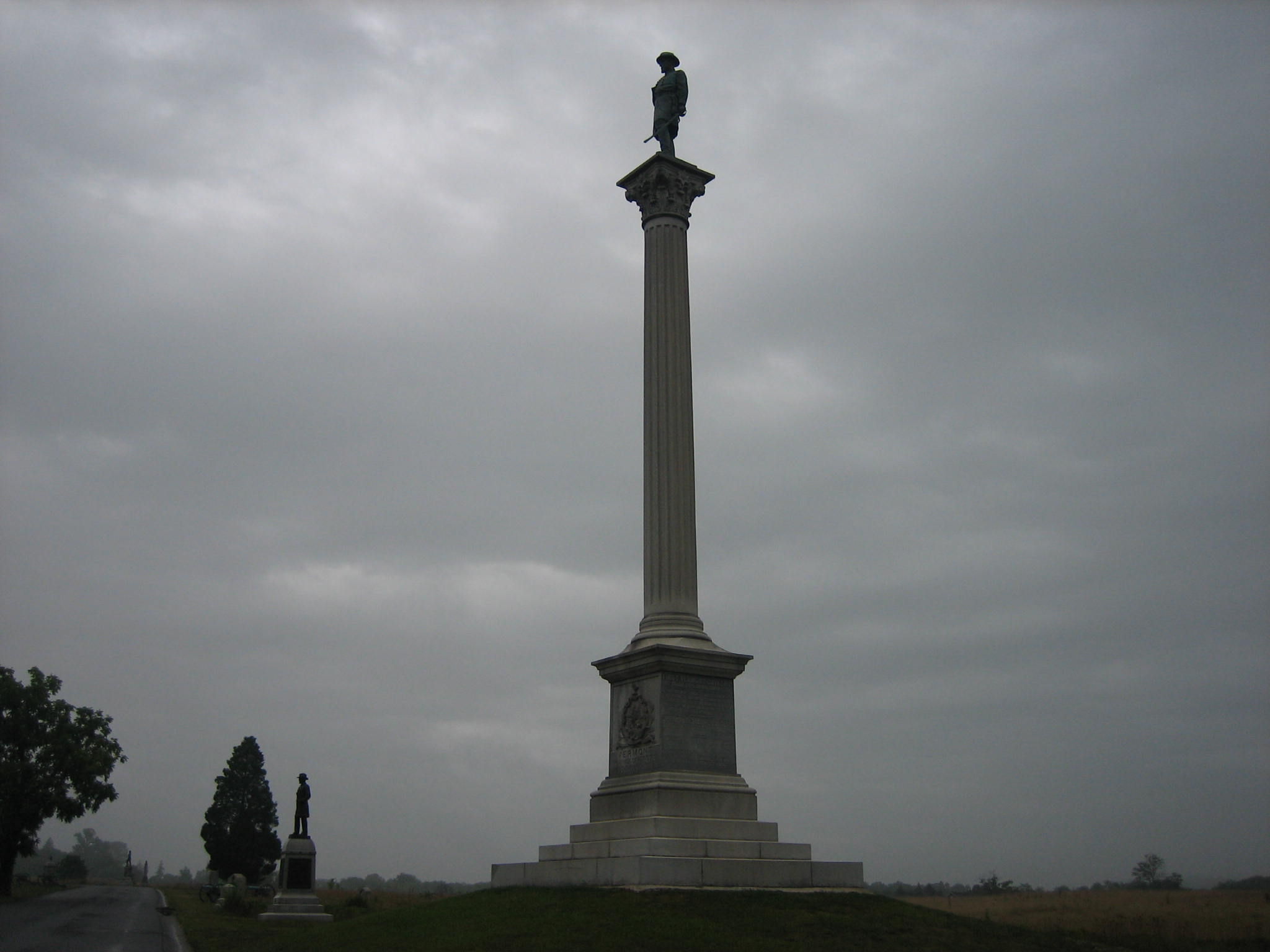 Gettysburg S Vermont State Monument Gettysburg Daily