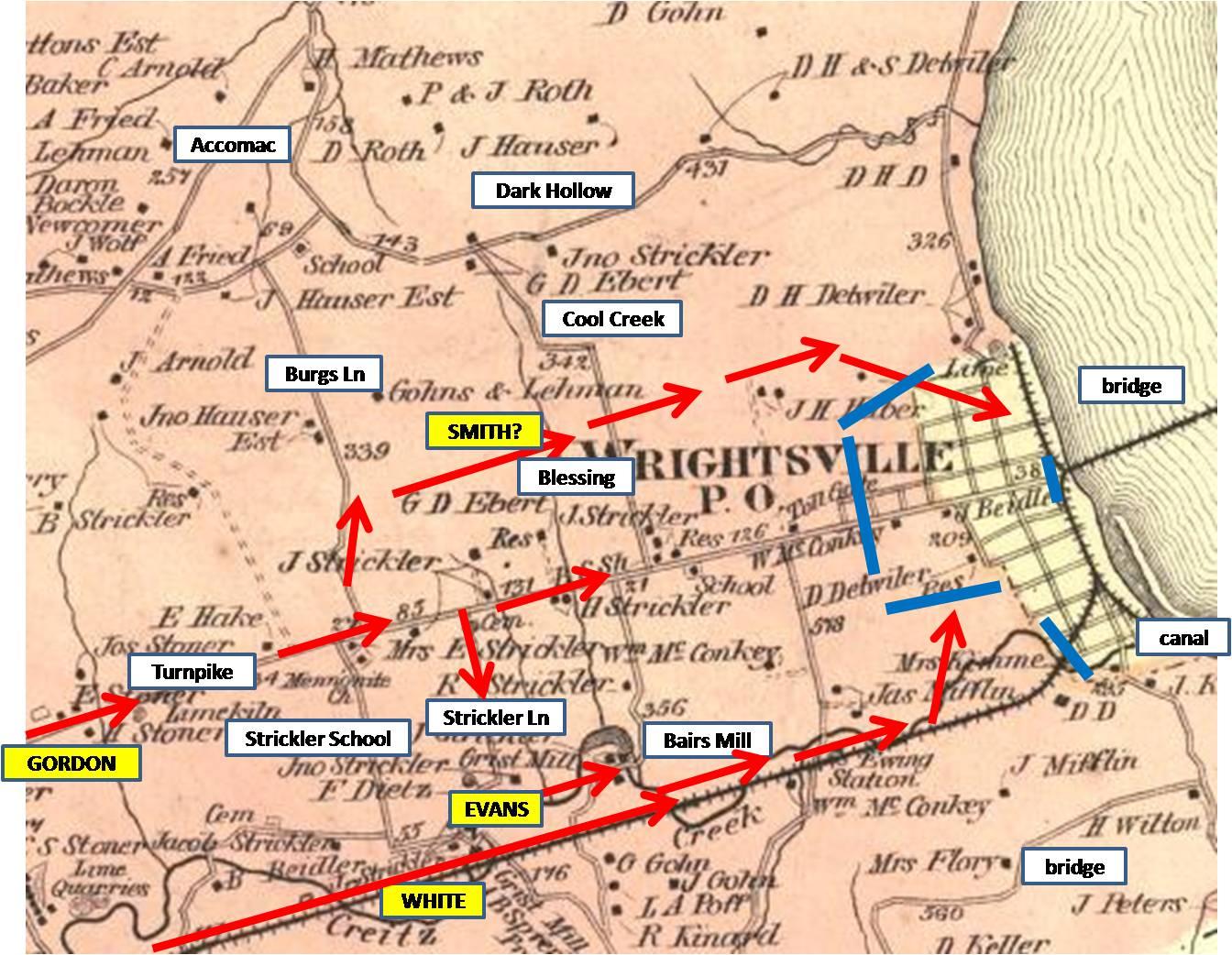 Civil War Troop Movement Maps