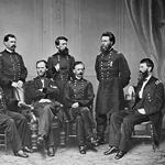 A Matthew Brady photograph circa 1865