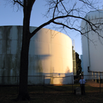 Water tanks of the Gettysburg Municipal Authority