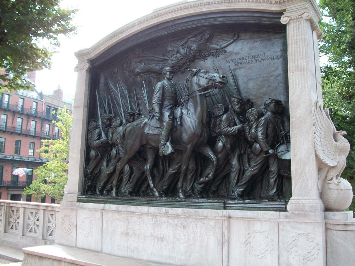 54th Massachusetts memorial