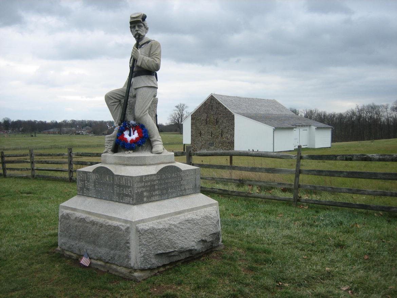 149th Pennsylvania monument