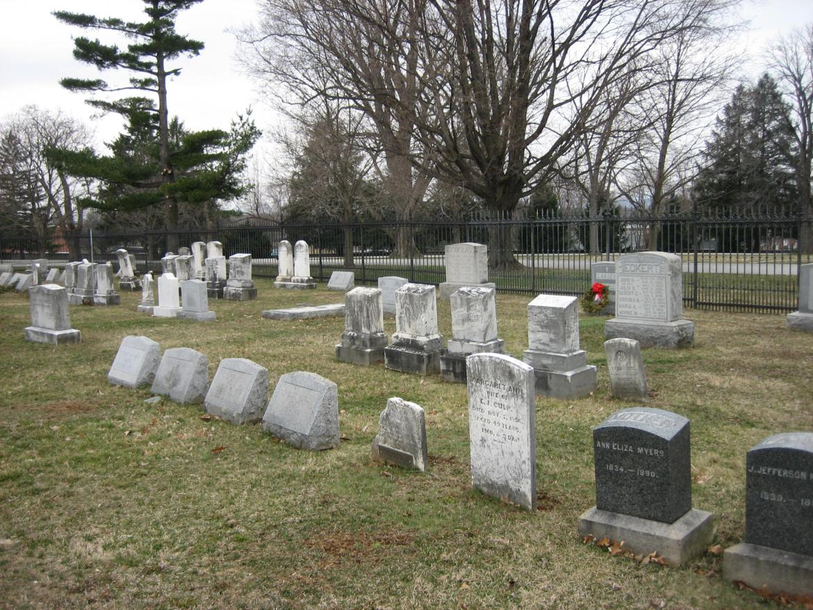 North Park Lincoln >> Jesse Culp's Grave | Gettysburg Daily