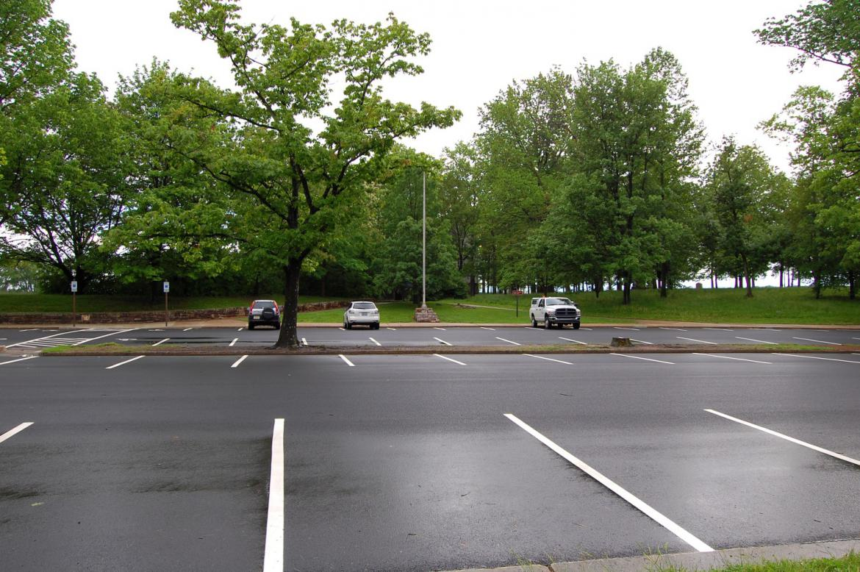 Cyclorama Parking Lot Resurfacing Part 2 Gettysburg Daily