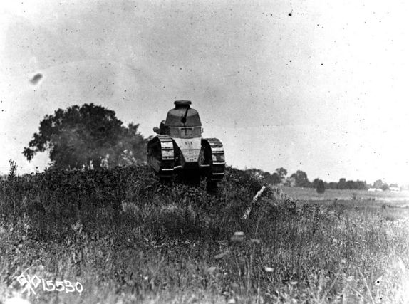 Eisenhower S Renault Tank At Camp Colt Gettysburg Daily