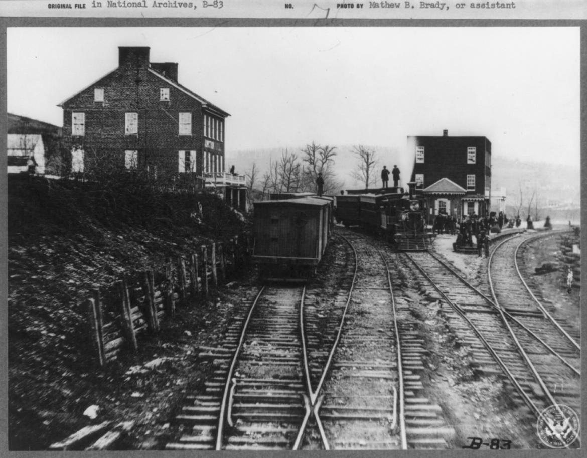 Hanover Junction on November 18, 1863