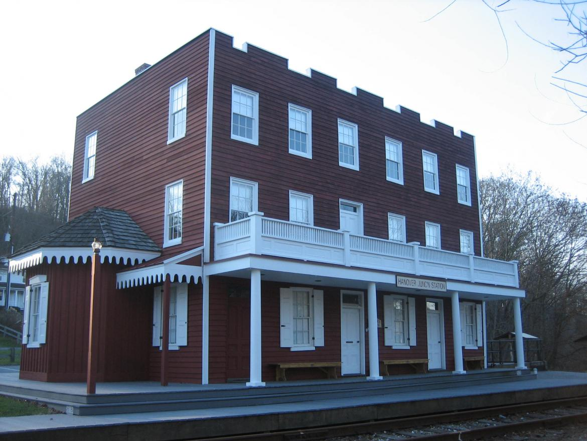 The Hotel/Depot or Station