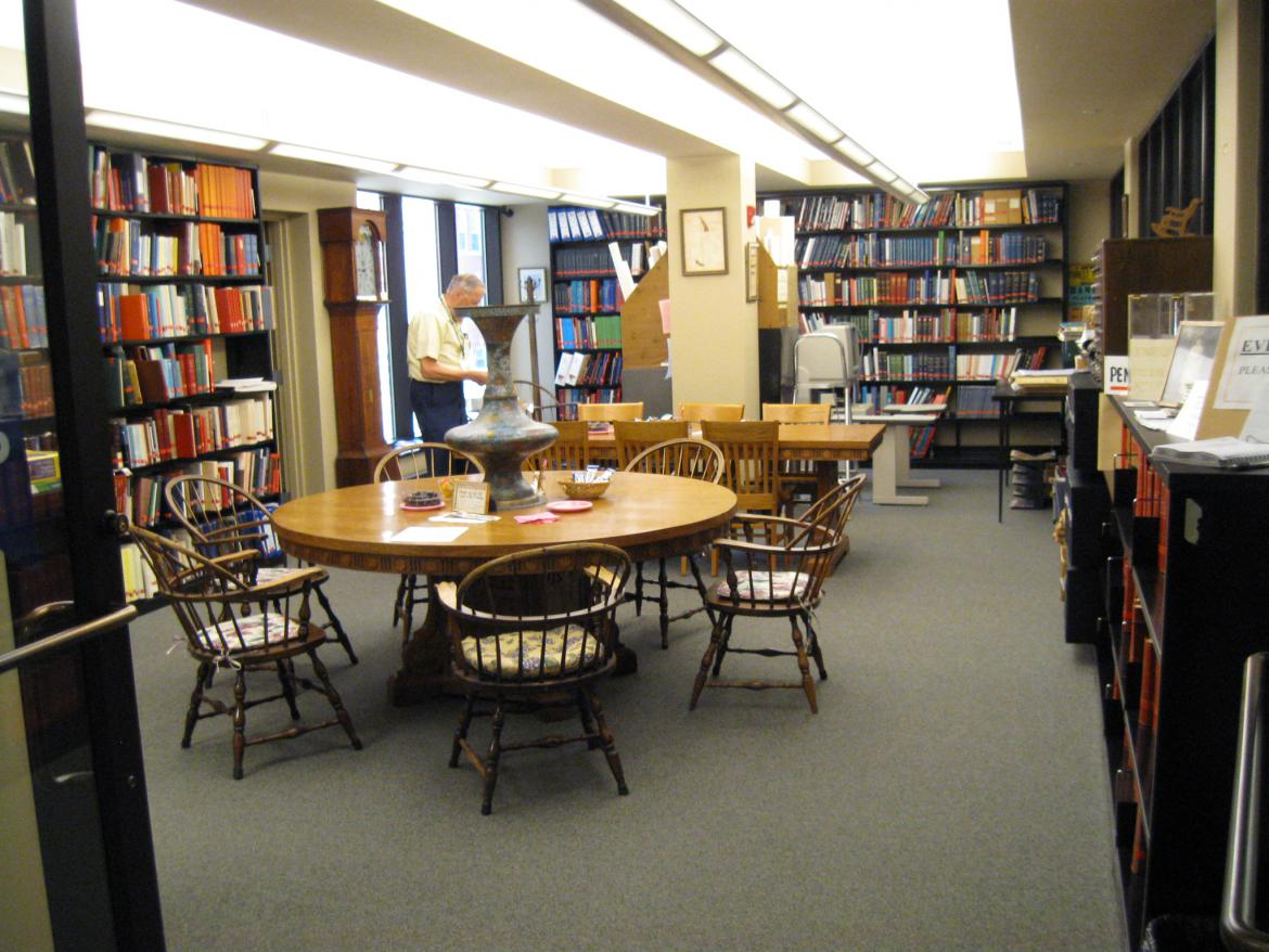 The pennsylvania room at the hanover public library for The hanover house