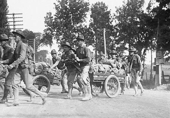 Marines at Camp Harding