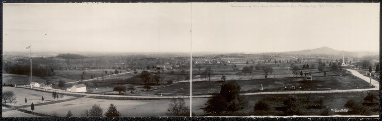 1909 Ziegler's Grove panorama