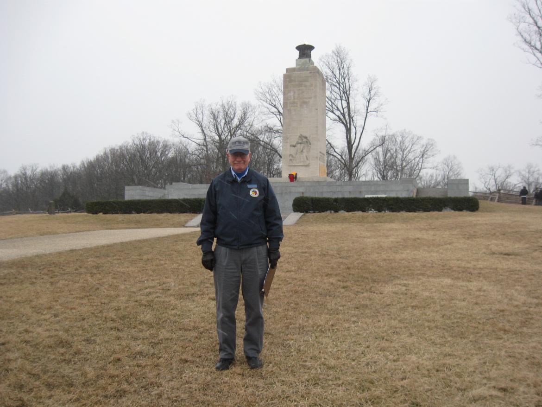 Richard Goedkoop at the Eternal Light Peace Memorial