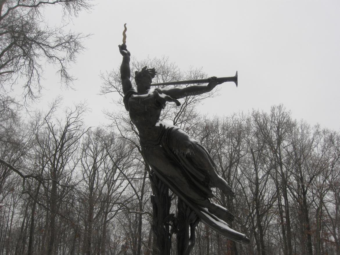 Spirit of the Confederacy on the Louisiana State Monument