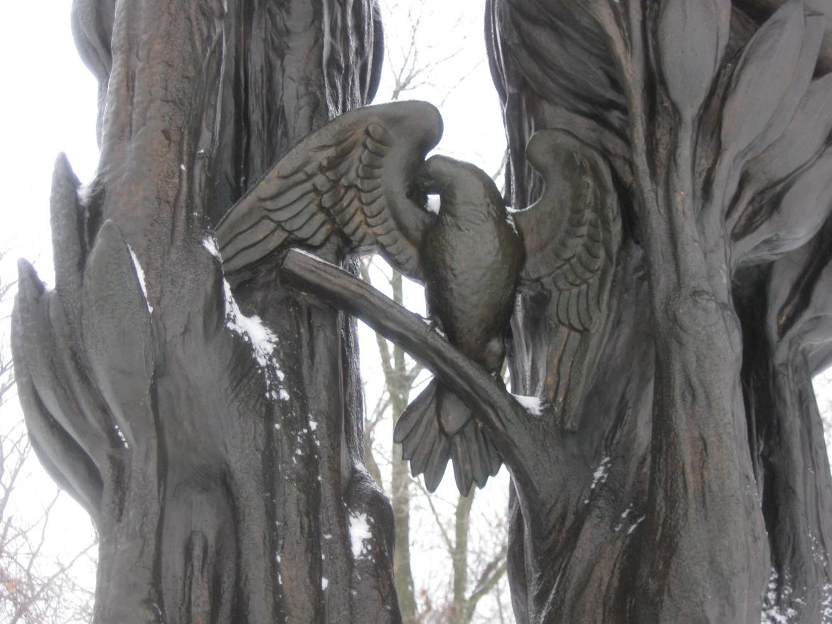 Dove of Peace on the monument