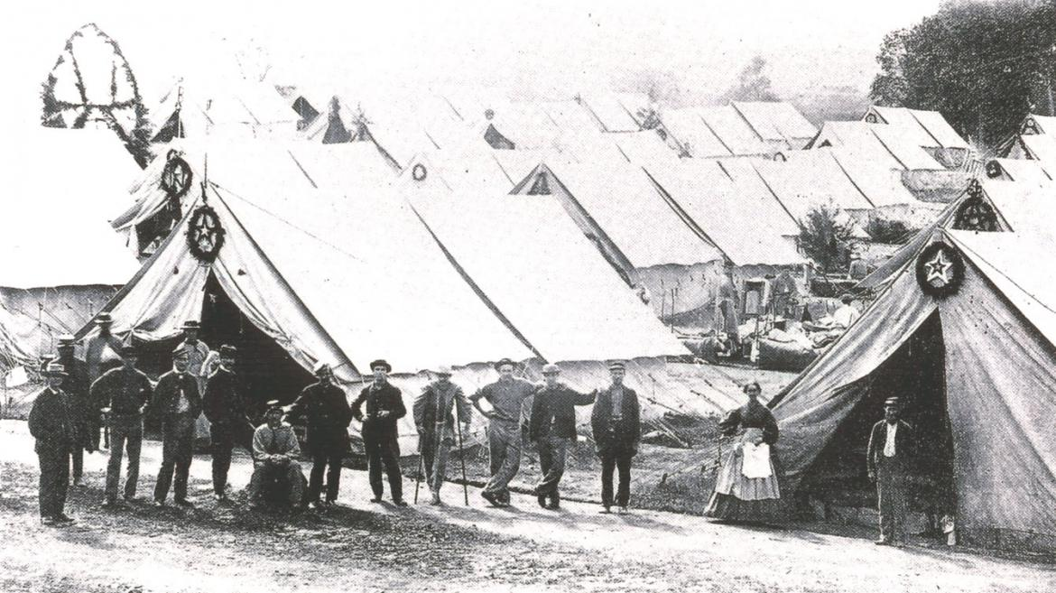 Tyson Brothers' photograph of Camp Letterman