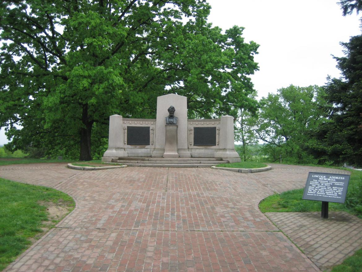 Gettysburg Address location