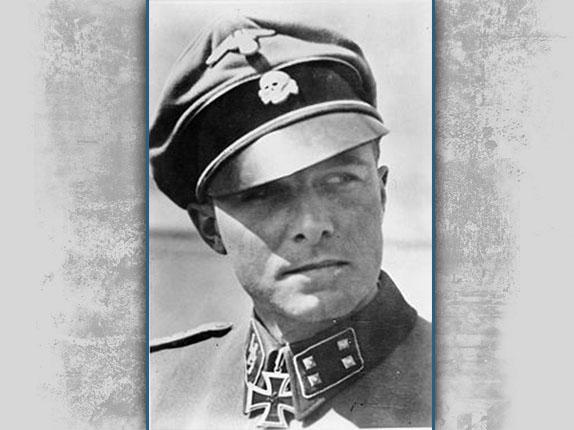 German SS-Obersturmbannfuerher Joachim Peiper