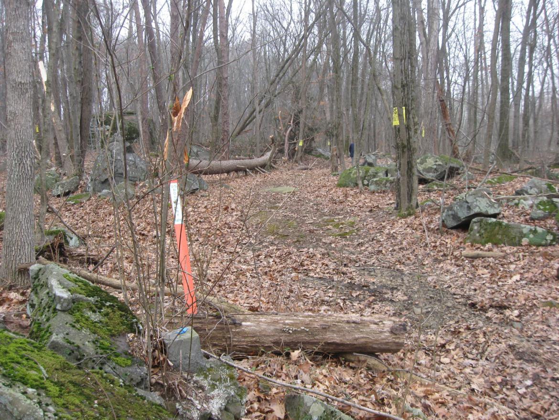 NPS Boundary marker