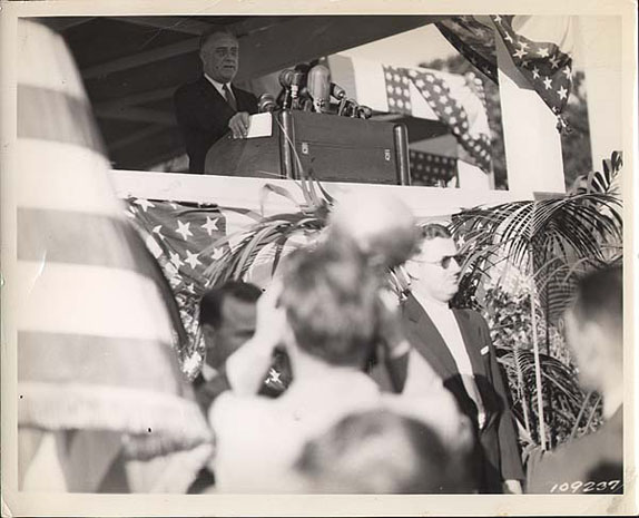 President Roosevelt's Address