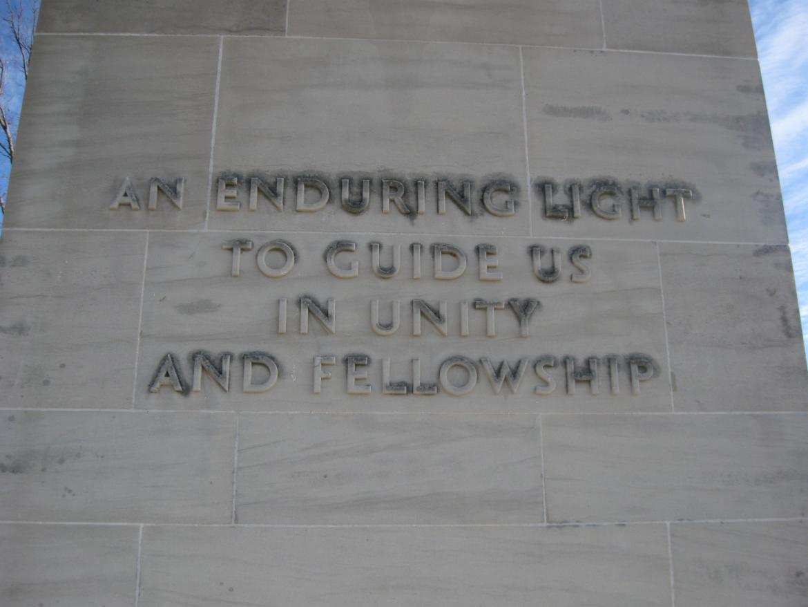 'An enduring light to guide us in unity and fellowship'